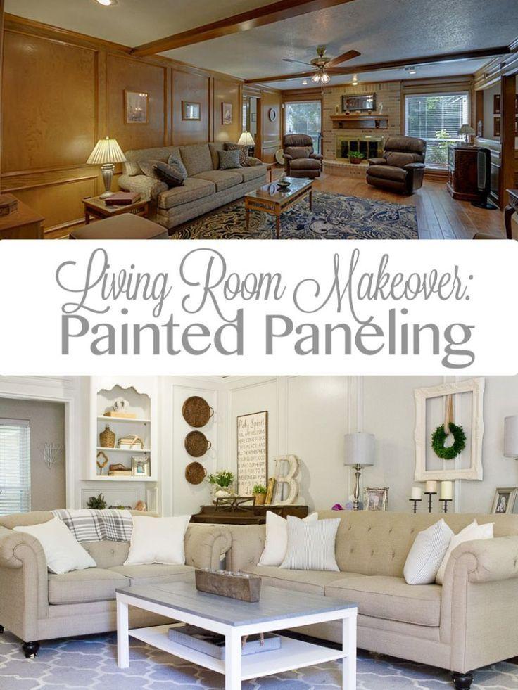 Living Room Makeover Sense Serendipity Farmhouse Decor DIY Simple Diy Living Room Makeover