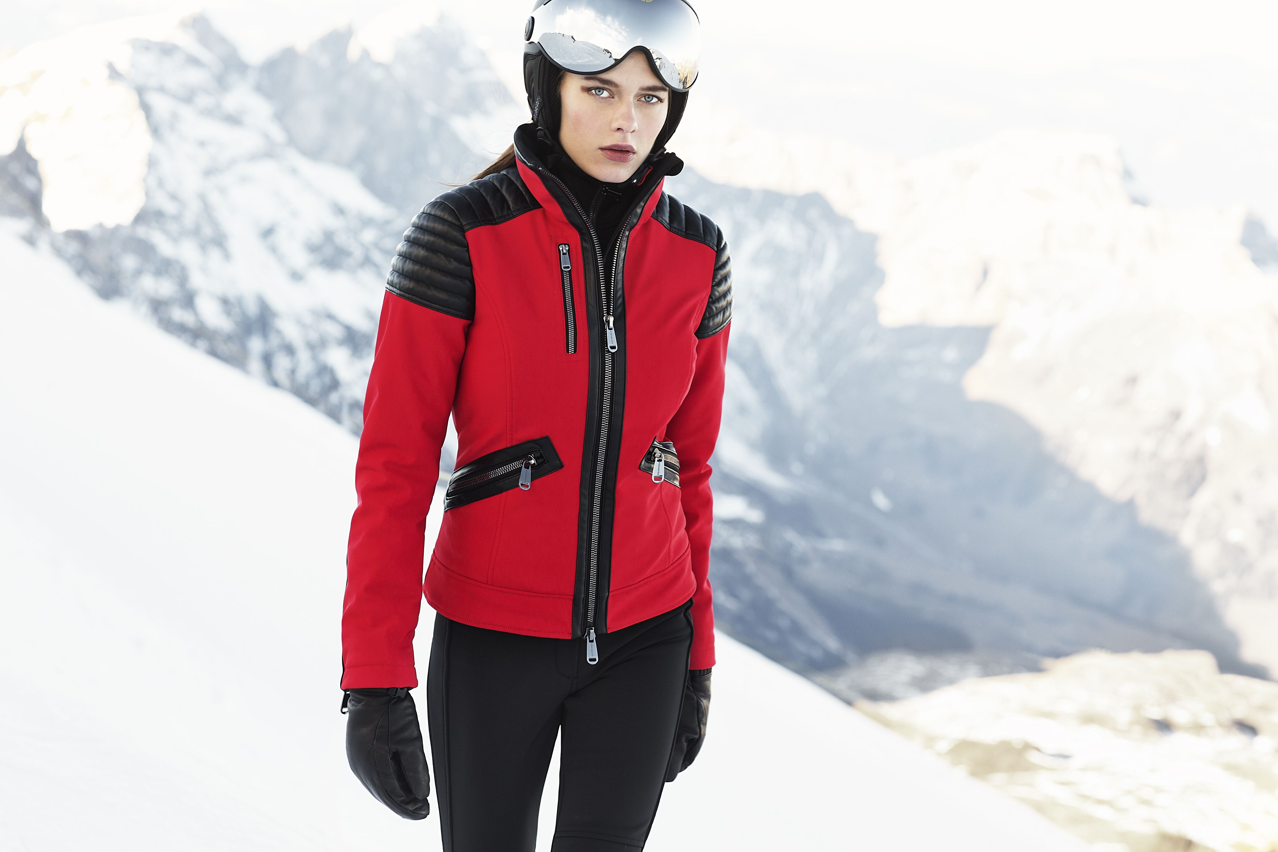 aa7429bab3 Leonie Ski Jacket red. GOLDBERGH Luxury Sports Jacket 2017