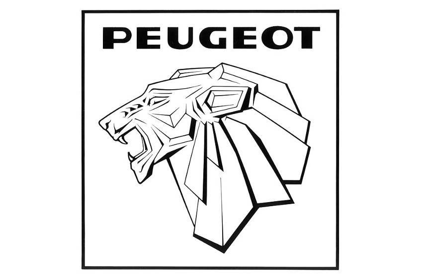 peugeot logo 1965 cars heraldry Ав�оге�ал�дика