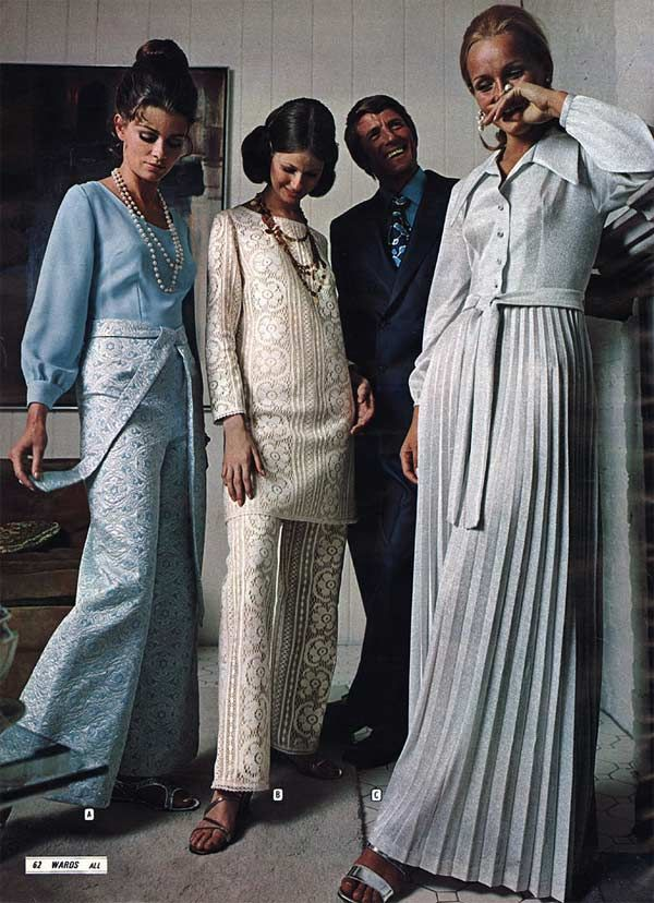 Formal 70 s dresses style