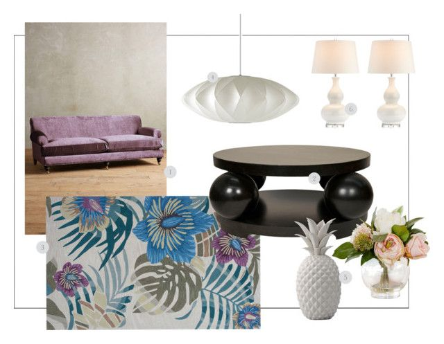 """Spring"" by kowanse on Polyvore featuring interior, interiors, interior design, дом, home decor, interior decorating, Anthropologie, Herman Miller и Bloomingville"