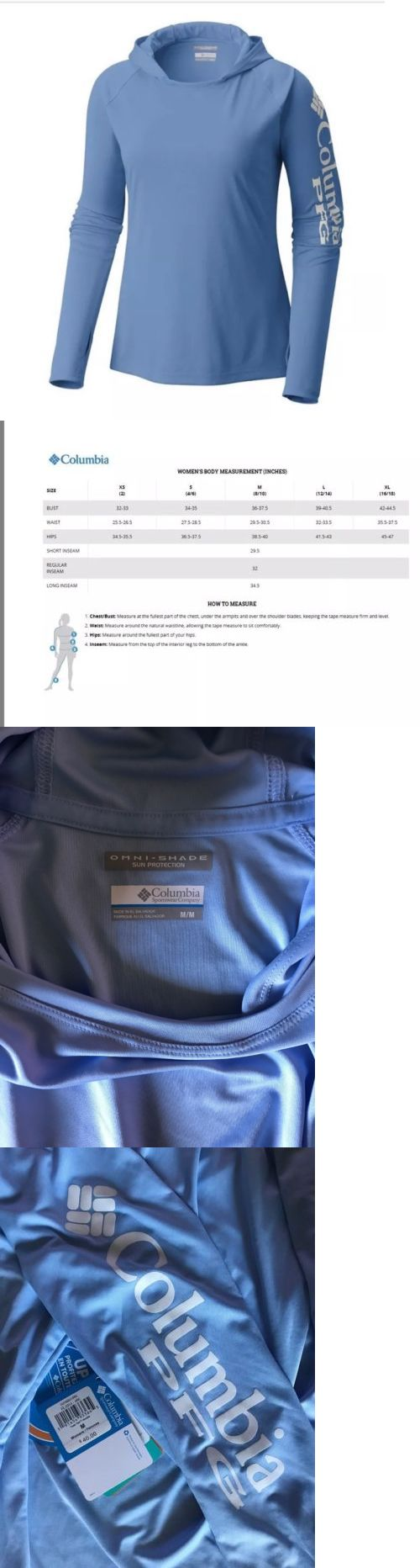 9f2b16768f8 Shirts Tops and Sweaters 181368  Columbia Sportswear Women S Pfg Tidal Tee  Plus Size Hoodie
