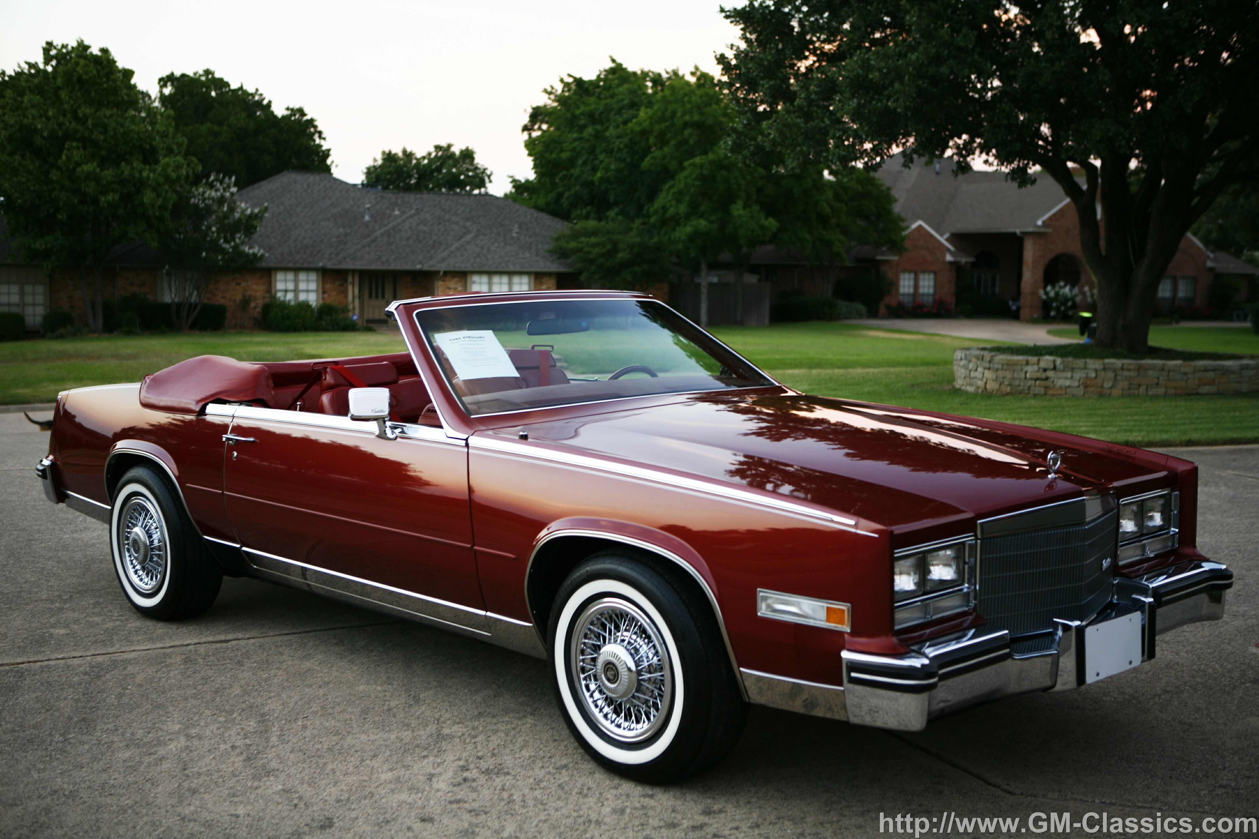 85 eldordo | 1985 Cadillac Eldorado Biarritz Convertible | old skool