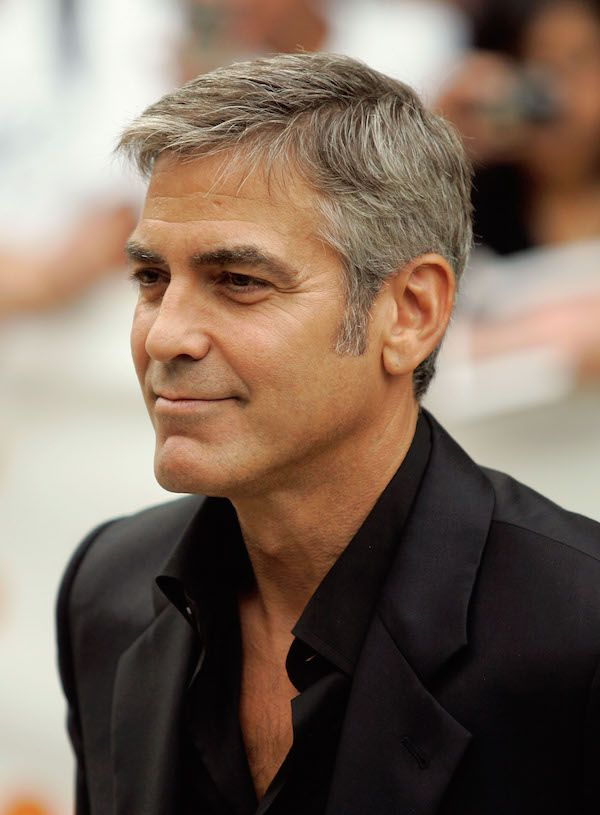 Top 25 Celeb Men S Messy Hairstyles Men Hairstyles George Clooney Haircut George Clooney Hair Mens Hairstyles