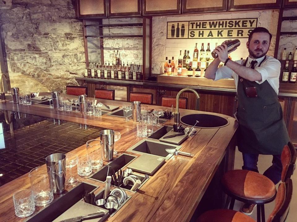 Master mixology The Whiskey Shaker Jim Dobson!
