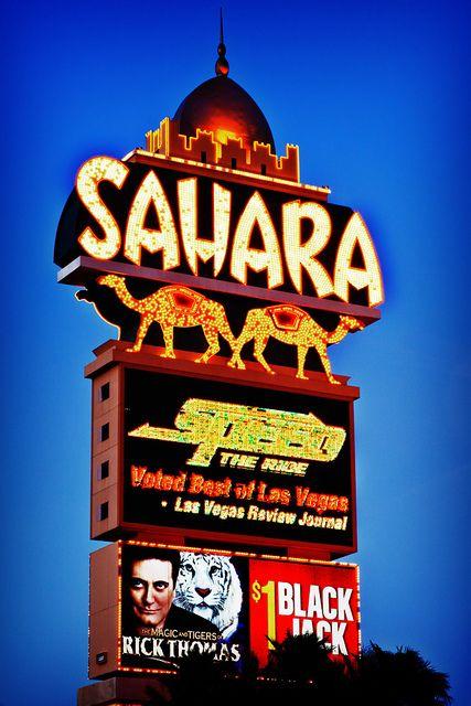 Sahara Sign Sahara Las Vegas Old Vegas Las Vegas