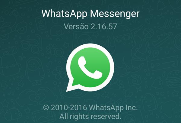 WhatsApp Transparente 2.16.57 Com criptografia pontaa