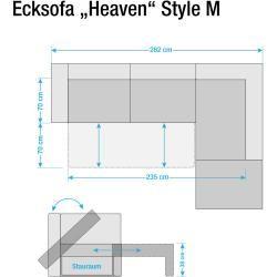 Ecksofa Heaven Colors Style M Webstoff Tom TailorTom Tailor