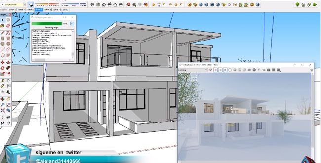 Some Useful Sketchup Tips To Illuminate The Exterior In Sketchup U0026 Vray  Hdri Maps
