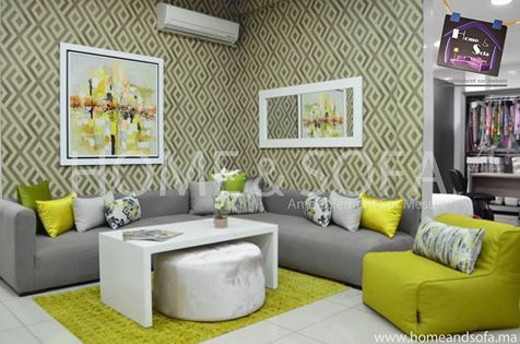 Salon Home and Sofa | salon en 2019 | Salon marocain moderne, Salon ...