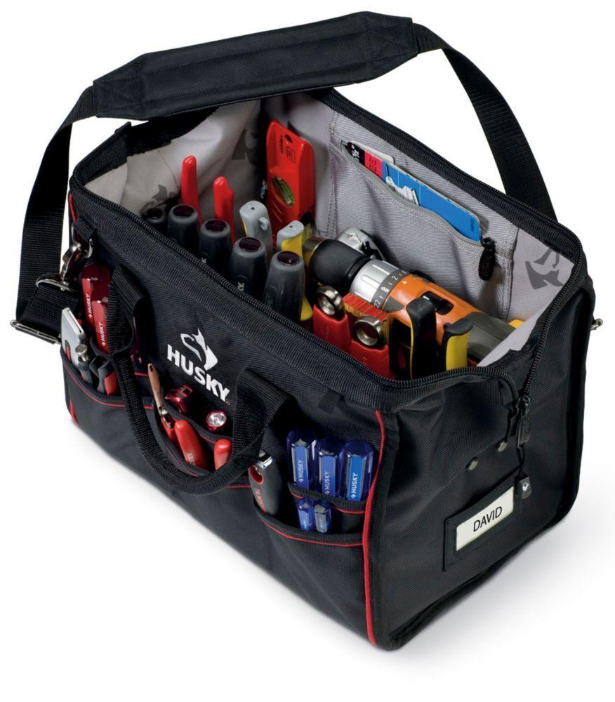 16 Inch Large Mouth Tool Bag Husky Tool Bag Tool Bag Carpenter Bag