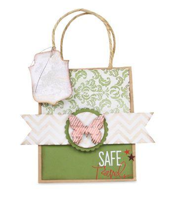 Heidi Swapp™ Safe Travels #Gift #Bag