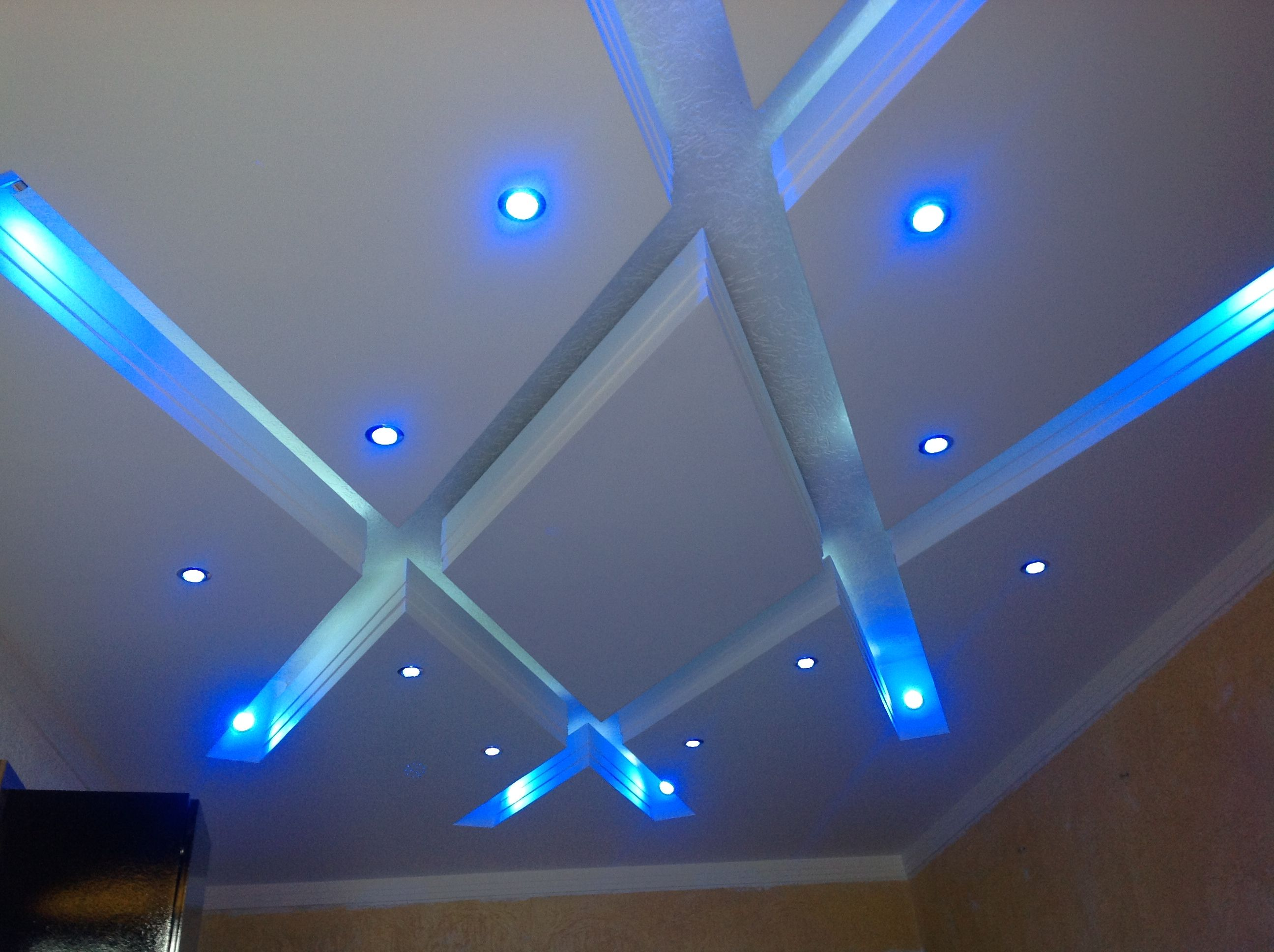 garage installing in led youtube fluorescent lights light drop the watch ceiling shop