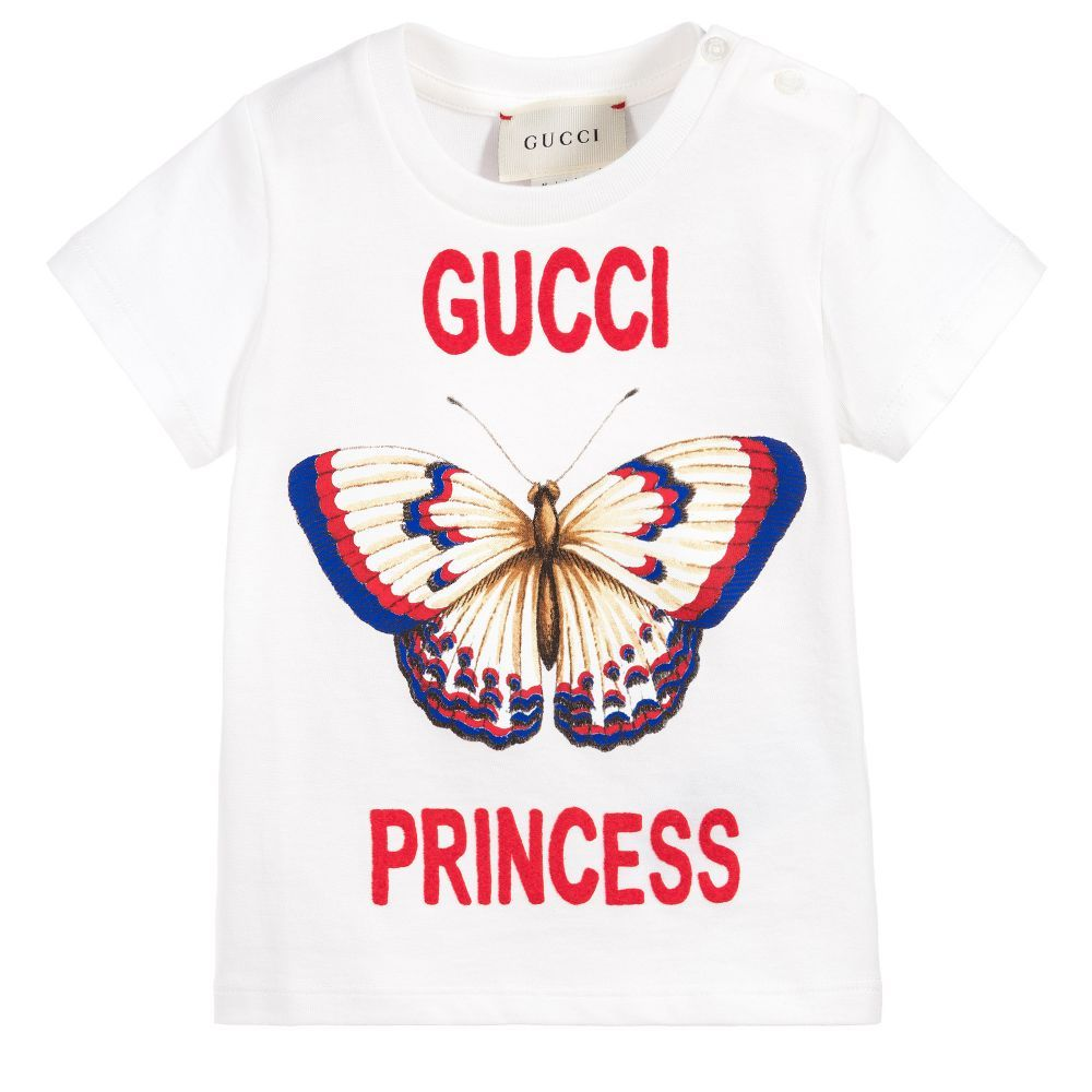 c14c598d7 Cotton Princess Baby Top for Girl by Gucci. | TOPS GIRLS BOYS | Baby ...