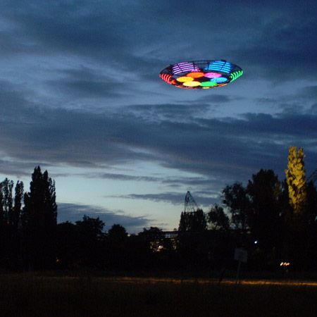 """Two South Carolina sisters reported watching a """"huge, round craft with flashing lights"""" that silently hovered low over their Goose Creek subdivision about 8:10 p.m., March 4, 2013.    This and other reports come according to testimony from the Mutual UFO Network (MUFON) witness reporting database. The reporting witness was inside when her 27-year-old sister yelled to come outside quickly. The woman said she took care of the children first and was outside in less than three minutes."""