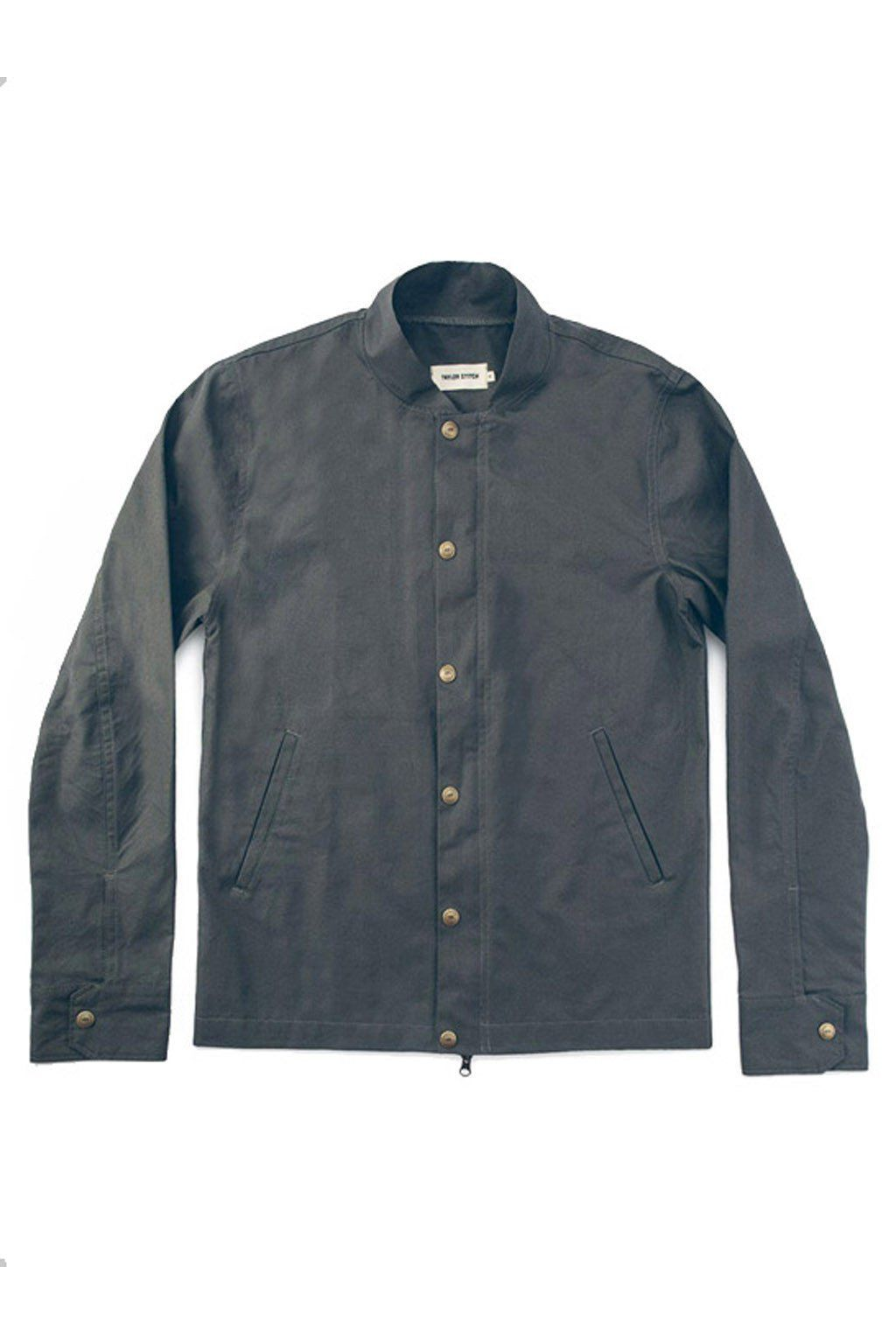 4794b18db TAYLOR STITCH Bomber Jacket, Charcoal | Products | Taylor stitch ...