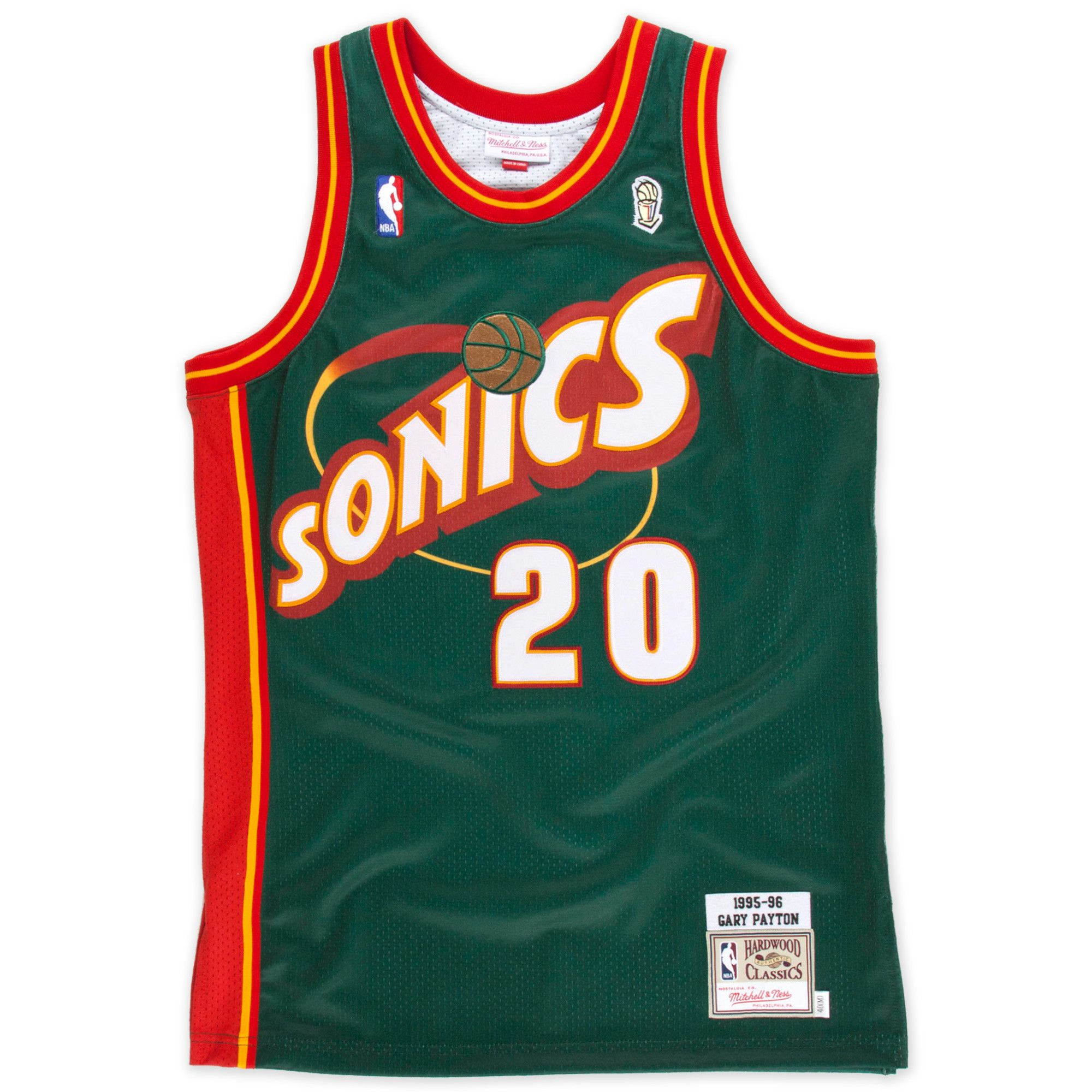 Gary Payton 1995-96 Authentic Jersey Seattle SuperSonics - Shop Mitchell   Ness  NBA Authentic Jerseys and Replicas 7f8113d57