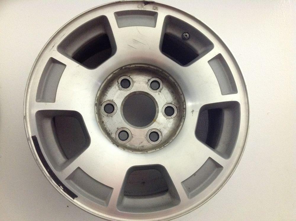 17 Chevrolet Factory Oem Aluminum Wheel Rim 6 Lug Tahoe Silverado