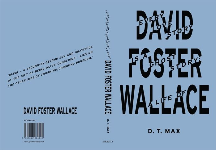 David Foster Wallace_by Fuel design. Saw this in a bookshop today and knew I loved it. So i wasn't surprised to find out who designed it