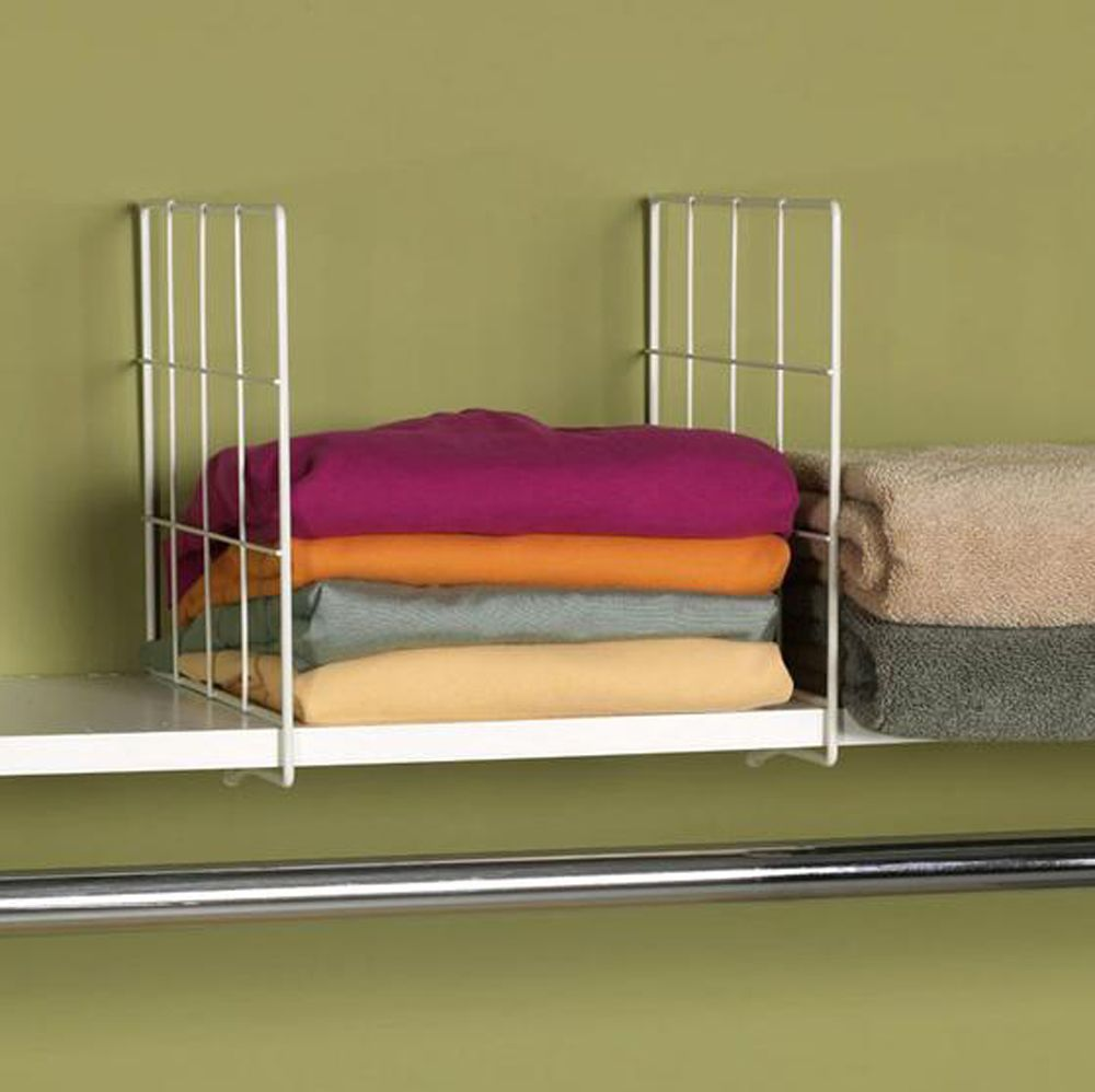 Find Shelf Dividers In A Variety Of Sizes And Styles Including Wire Or  Acrylic Dividers. Use Shelf Dividers For Organizing Closet Shelves Or Book  Shelves.