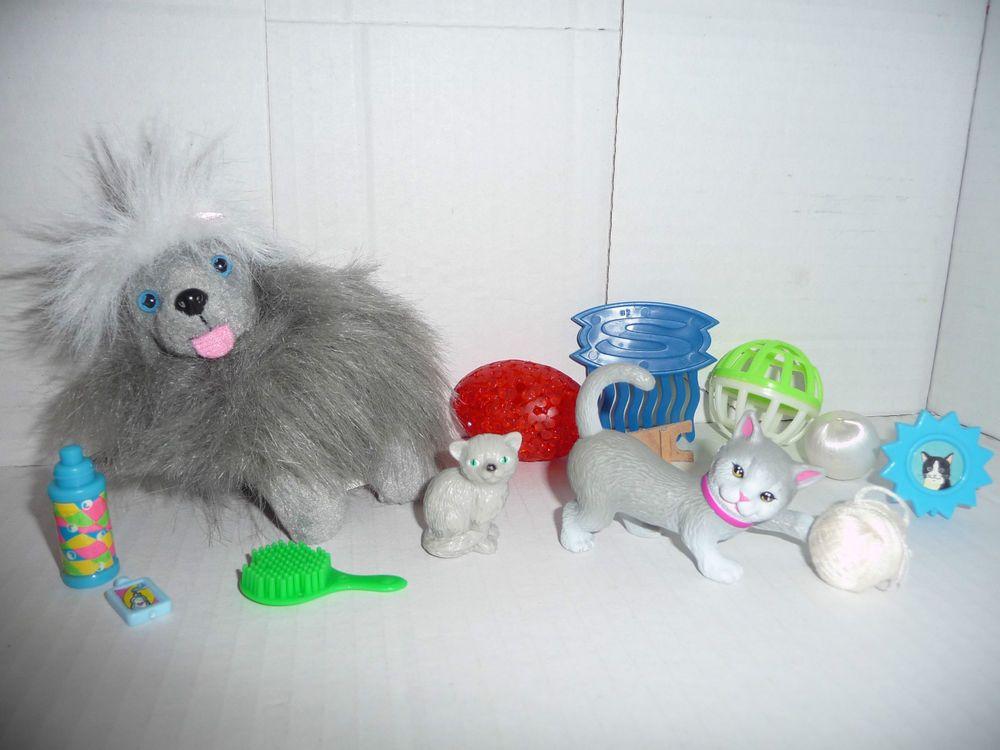 Mattel Barbie Tier Haustier Katze Hund Bobtail Zubehor