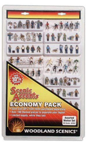 Woodland Scenics HO Economy Figure Assortment, WOOA2052 | Products