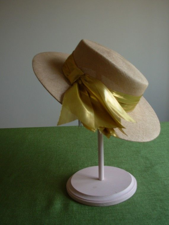 Hat from millinery buyer collection, still has tag, on FrouFrou4YouYou on Etsy