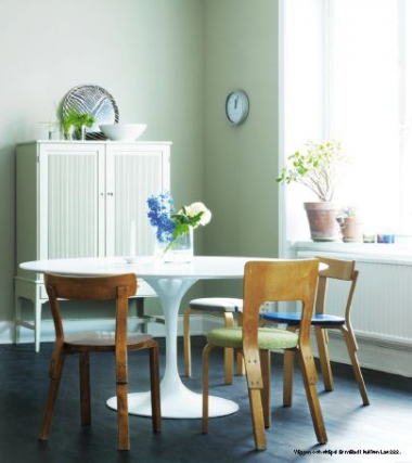 Inredning väggfärg pastell : Vägg mÃ¥lad med LADY Balance, LADY 10246 Velvet | Övrigt ...