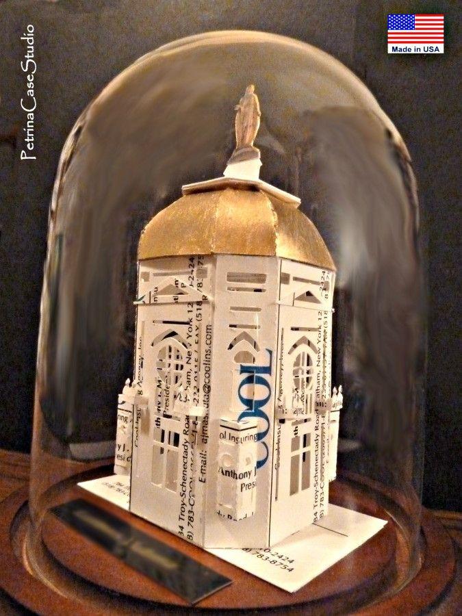 Notre Dame Paper Model 1157 -PetrinaCaseStudio Design | Business ...