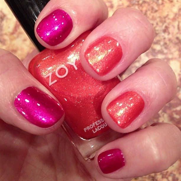 Zoya Nail Polish in Izzy and Myrta shared via Instagram by thestylishhousewife