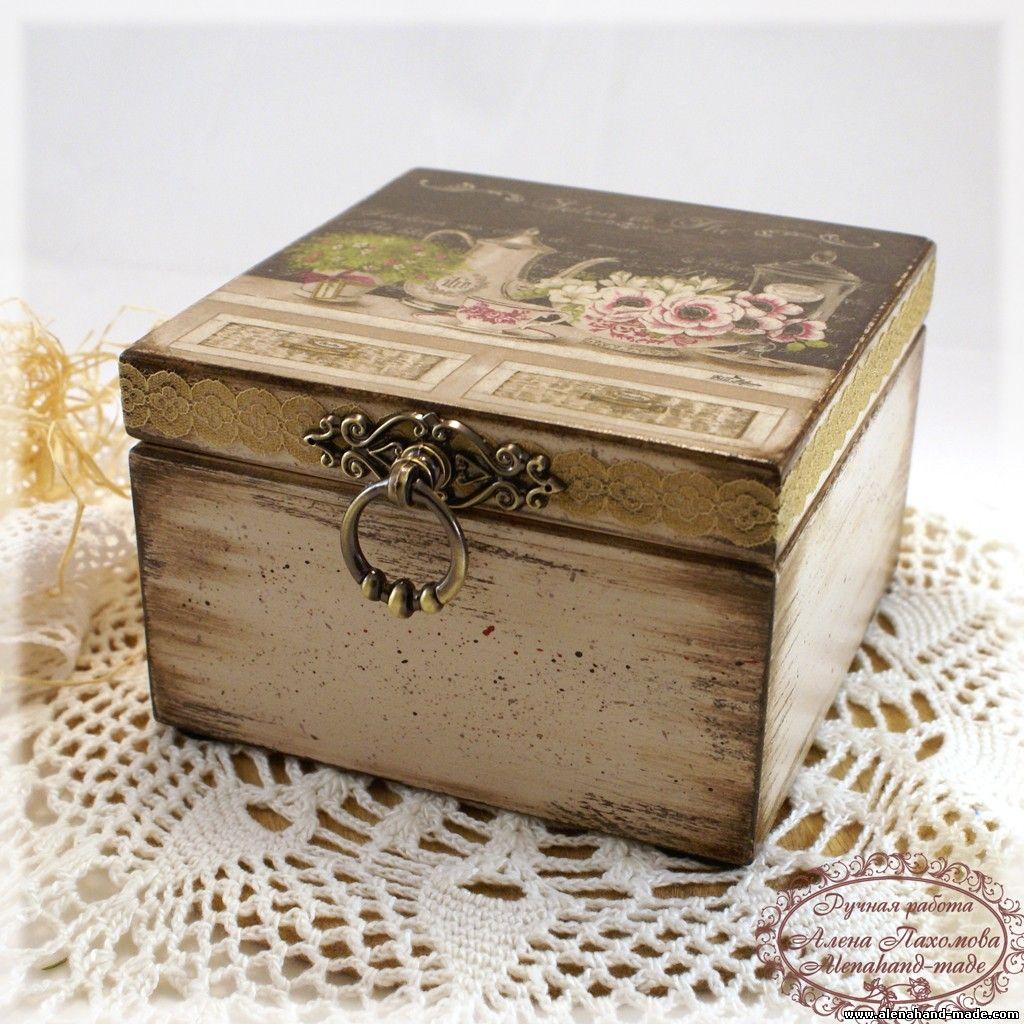 El tallercito manualidades con aroma a caf 2 edicion - Manualidades con caja de madera ...