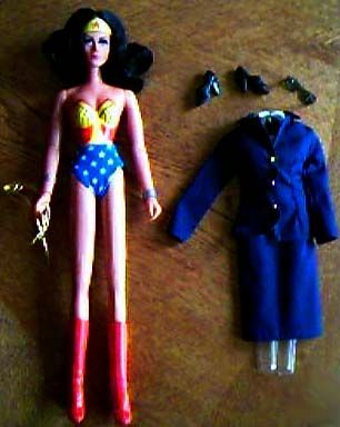 Vintage Wonder Woman Doll.