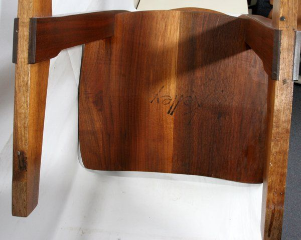 122024 George Nakashima Walnut Conoid Chair Dec 14 2008 Dumouchelles In Mi George Nakashima Furniture George Nakashima Nakashima Furniture