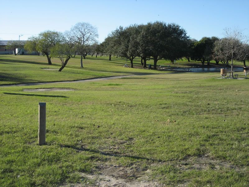 West Guth Park in Corpus Christi, TX 20 holes. We only had