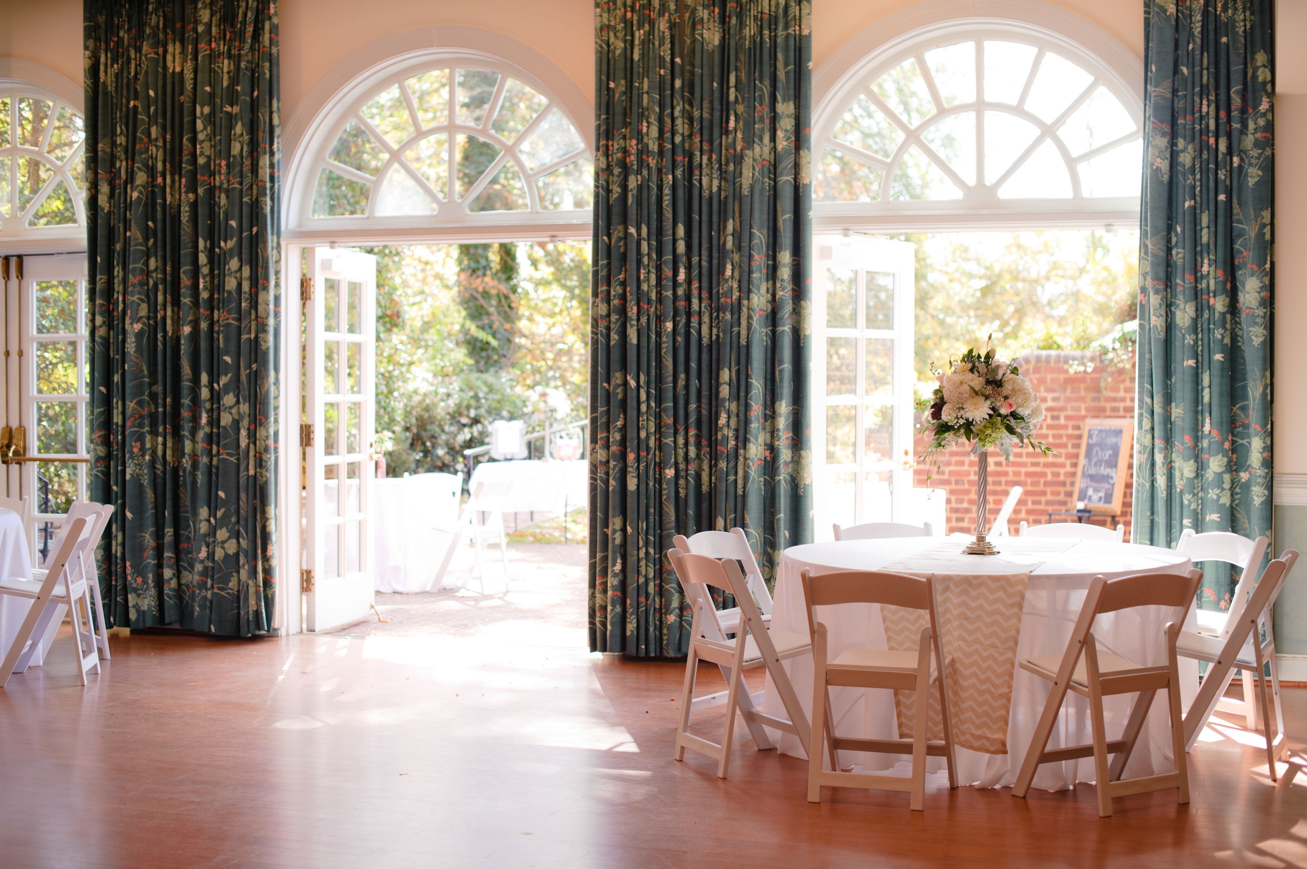 Indoor / Outdoor Reception at The Wilton House Richmond
