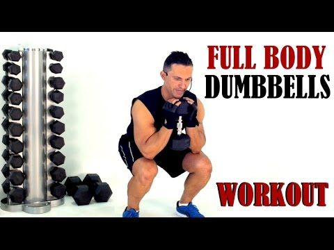 Captivating FULL BODY WEIGHTS WORKOUT With A Pair Of Dumbbells. Interactive Exercises!    YouTube