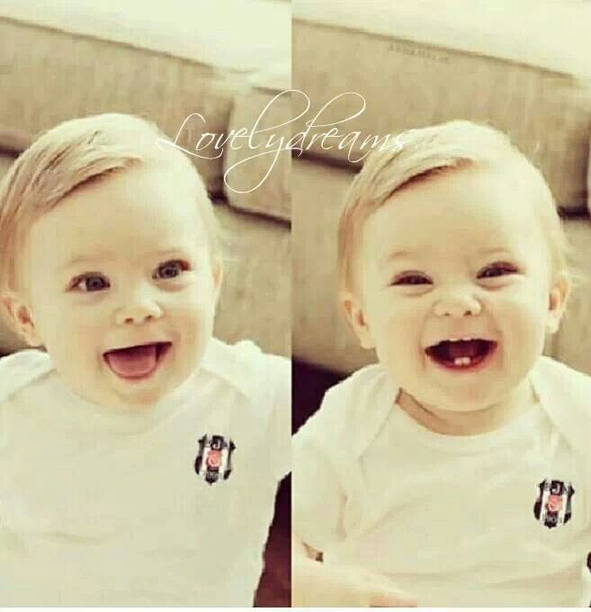 true joy is seeing a baby laugh:D