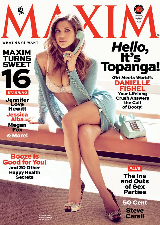 Danielle Topanga Fishel In Maxim Come On Who Didn T Have A