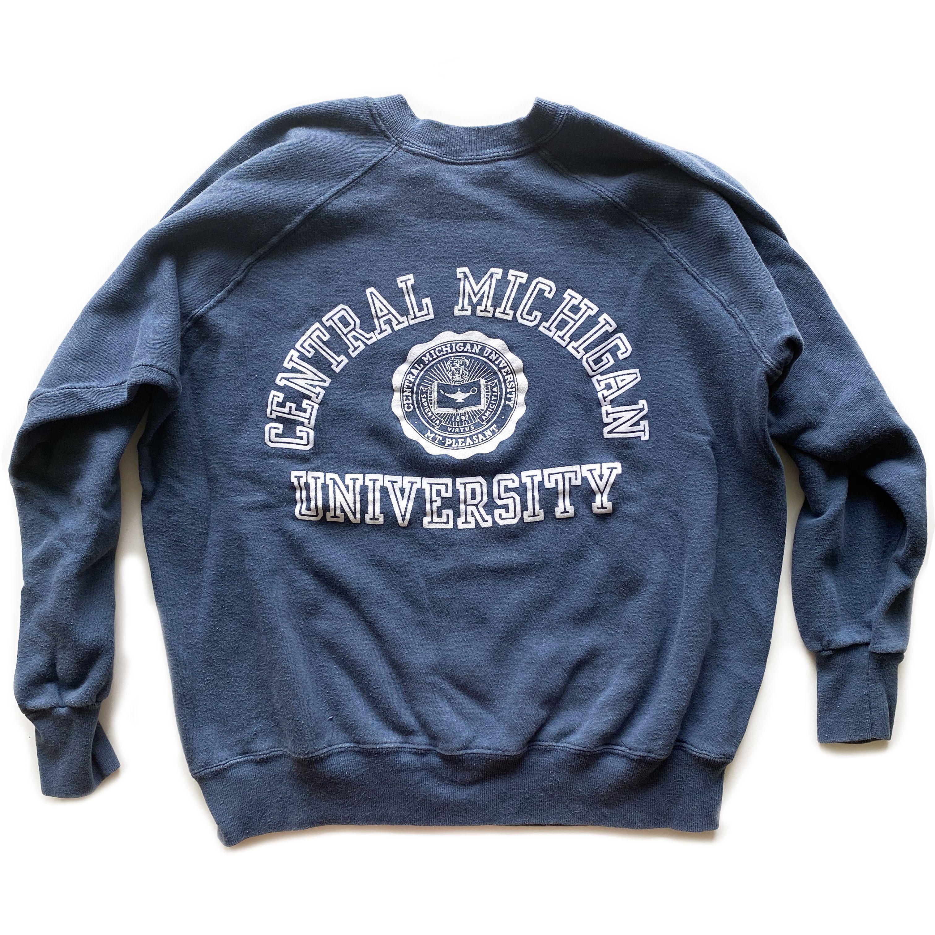 Vintage Central Michigan University Champion Crewneck Sweatshirt Sweatshirts Champion Crewneck Sweatshirt Crew Neck Sweatshirt [ 3024 x 3024 Pixel ]