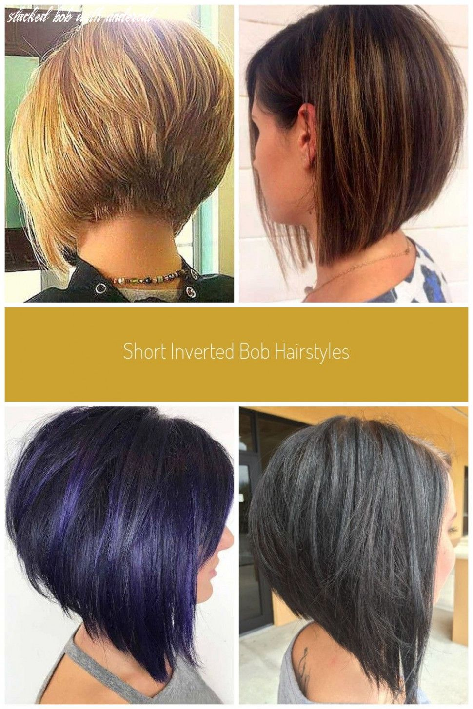 32++ Inverted bob with undercut ideas in 2021