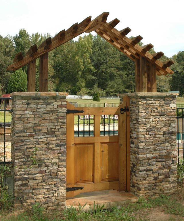 Gate Arbors Atlanta Decks And Fences From Atlanta