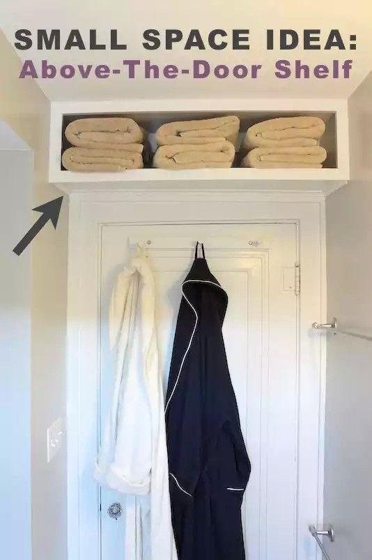 Shelf above the door | home sweet home | Pinterest | Shelving, Doors ...