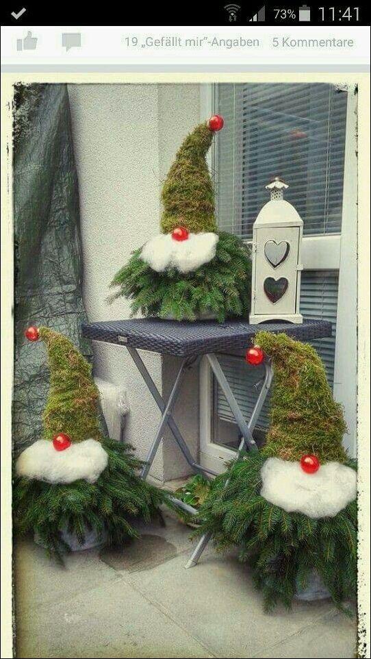 Pin von Annett Nödler auf Weihnacht Pin von Annett Nödler auf Weihnacht  Pinterest  Weihnachten   Weihnactsdeko Draussen