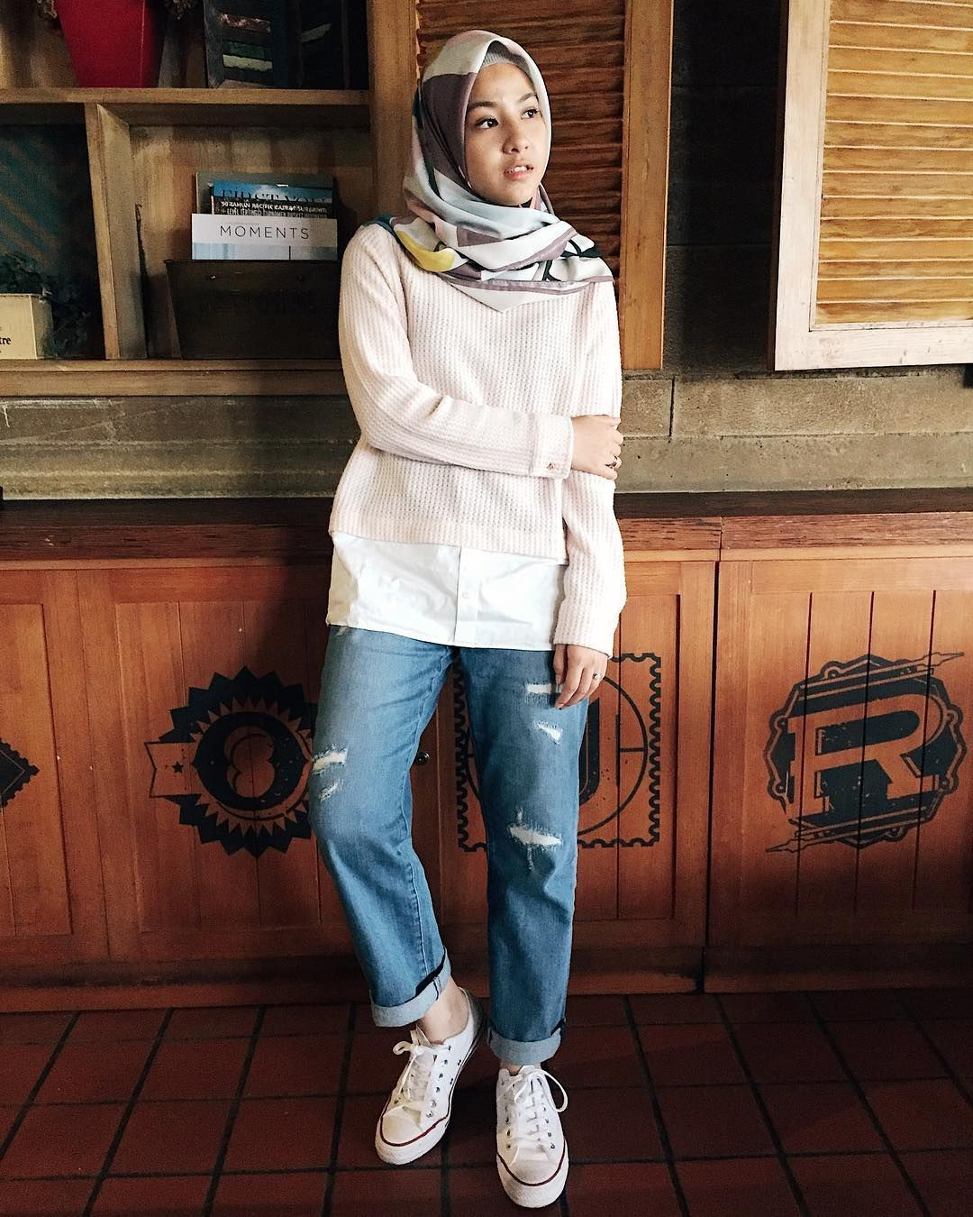 update nih style hijab kece buat sista di tahun 2019