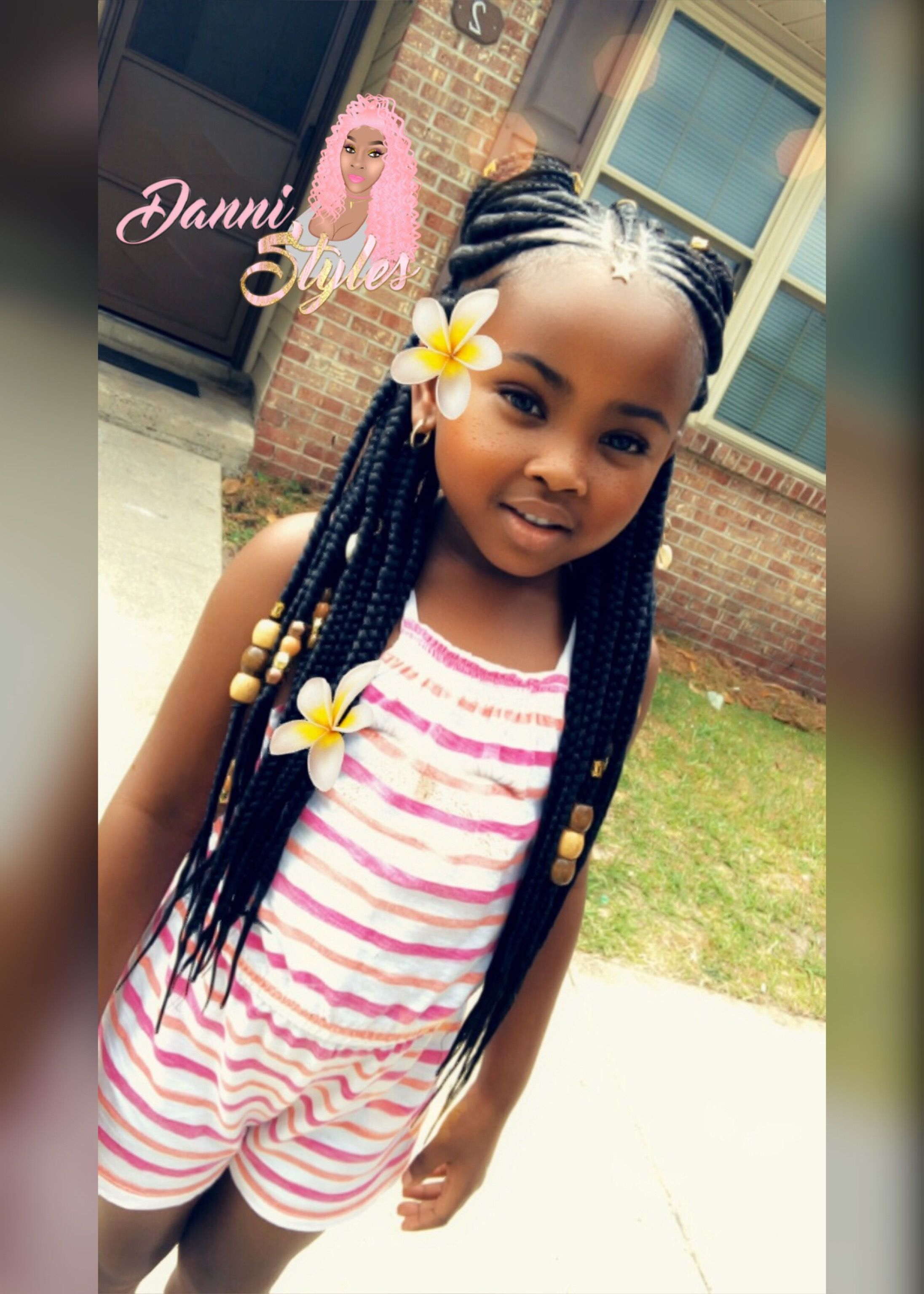 Dannistyles Image By Danni Chelley Black Kids Hairstyles