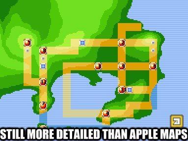 Apple Maps vs. Pokemon World Map... lol | Pokemon | Pokémon, Pokemon ...