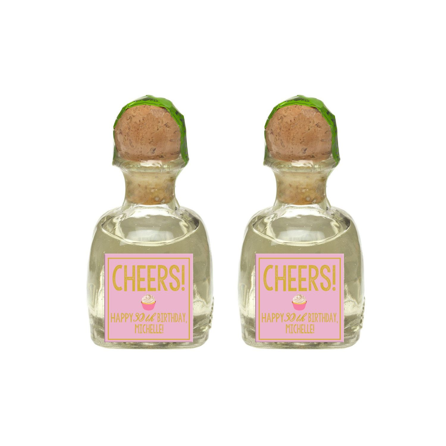 Custom Patrón Tequila Mini Bottle Labels Adult Birthday Party Favors ...