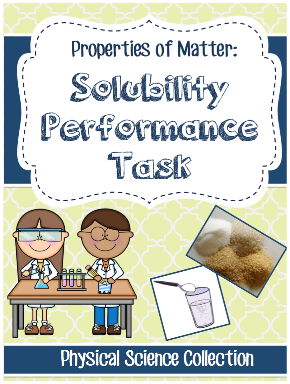 NGSS 5-PS1-3 Matter \u0026 Chemistry Solubility Lab - 5th Grade   Solubility [ 1234 x 932 Pixel ]