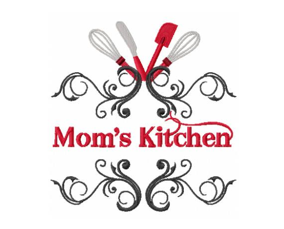 Moms Kitchen Design Kitchen Embroidery Design Moms Embroidery