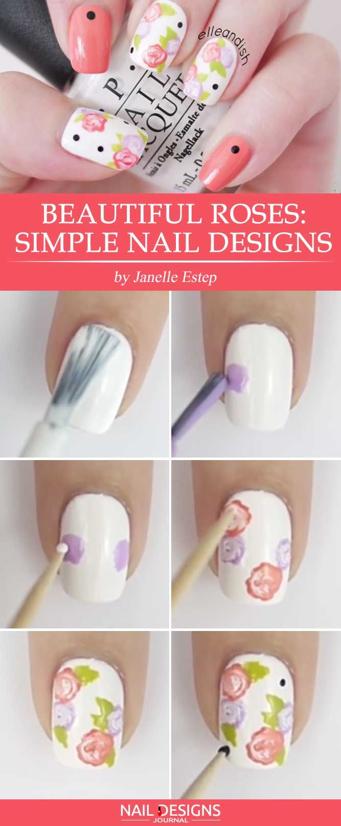 15 Step by Step Tutorials How to do Nail Designs at Home | Simple ...